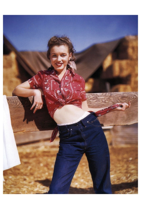 Norma Jeane Northern California Andre de Dienes_Oct-1945