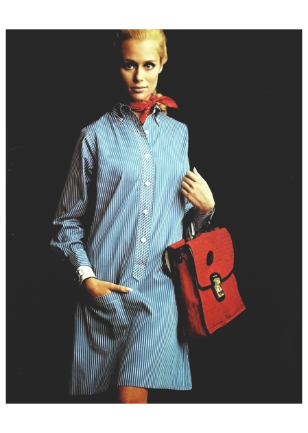 The %22Dresshirt%22 by Lady Van Heusen, Lauren Hutton,for Altman-Stoller, 1960 Photo William Helburn