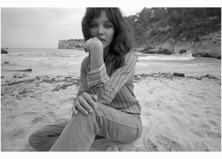 Anna Karina Posing on a beach in Mallorca, Spain, during the filming of The Magus, in the late '60s Terry O'Neill:Getty Images