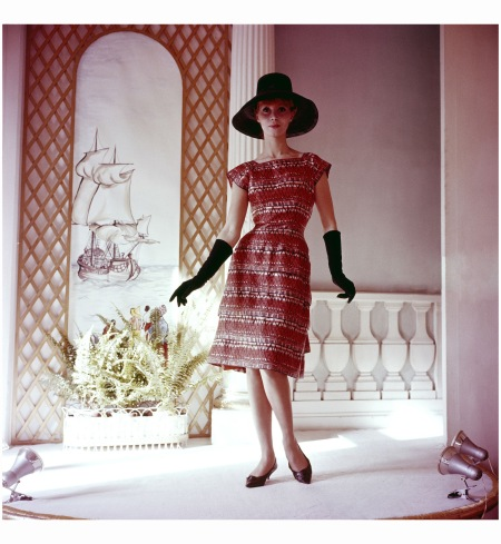 Antilles Dress Of Carven In 1961 Keystone