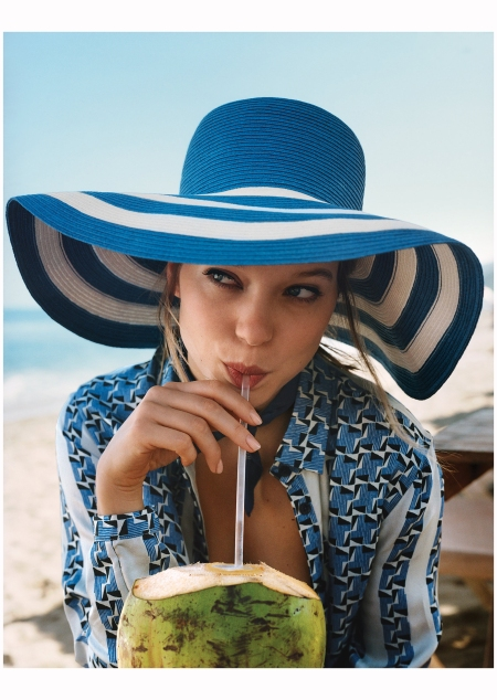 Lea Seydoux at Villa Paraiso and Punta Sayulita Nayarit Mexico Photo Angelo Pennetta vogue 2015 b