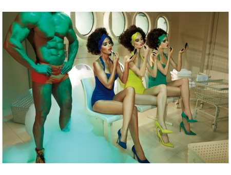 Makeup by Val Garland – October 2013 Miles Aldridge