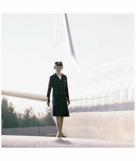 Retro Sas Airline 1976 %22Carven%22