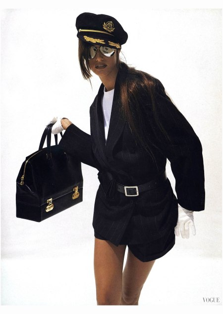 Susan Holmes Photo Dewey Nicks, Vogue, August 1992