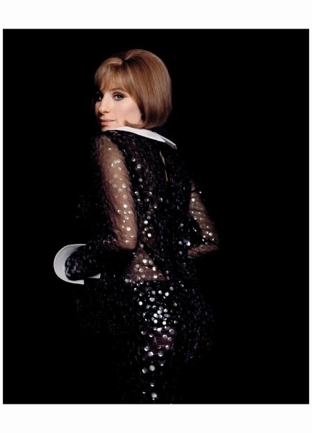 Barbra Straisand wearing Arnold Scaasi 1969 Photo Lawrence Shiller