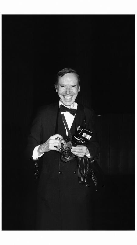 Bill Cunnigham NYC 1984 Photo Roxanne Lowit