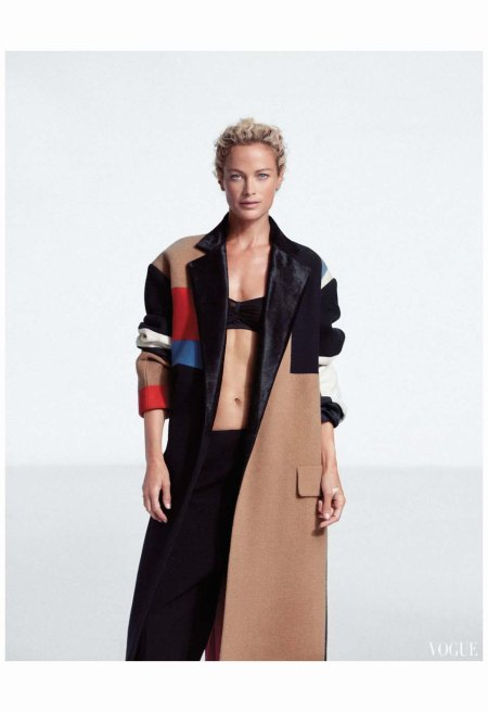 Carolyn Murphy by Cass Bird (Urban Renewal - Vogue Korea November 2012