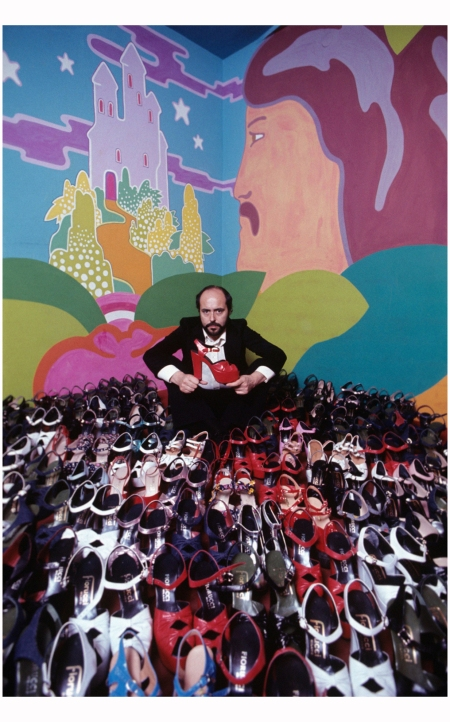 Elio Fiorucci In Milan With The Last Shoes Designed By Himself, 1972 :Giuseppe Pino