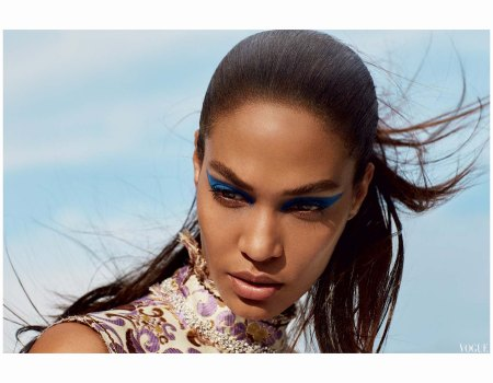 Joan Smalls - vogue - may Photo Cass Bird 2015
