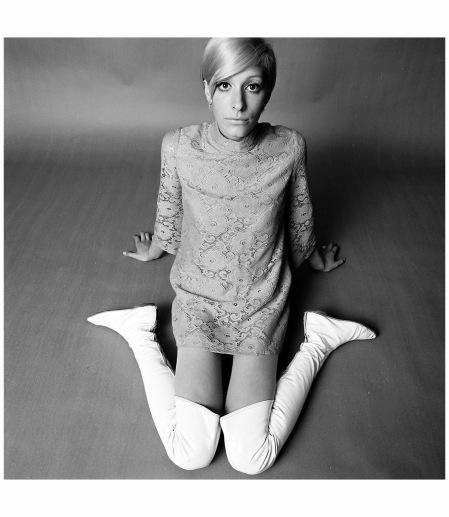 Loeki Brugman, 1967, mode Photo Hans Dukkers