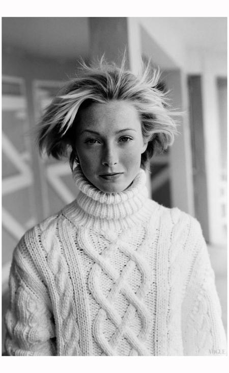 Maggie Rizer Vogue 2000 Photo Arthur Elgort