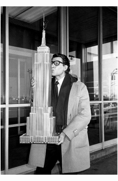 Saint Laurent In New York, 1983 Photo Roxanne lowitt