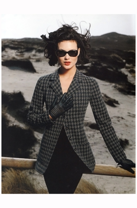 Shalom Harlow - Chanel Campaign 1996 Photo Karl Lagerfeld
