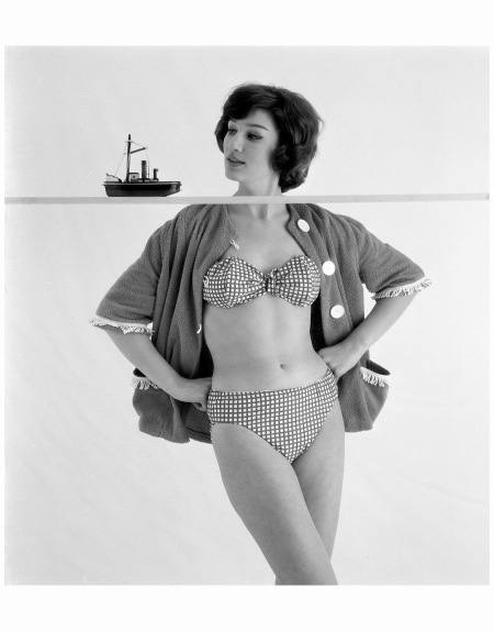 Sonny Gaasen, Sierman mode 1960 Photo Hans Dukkers