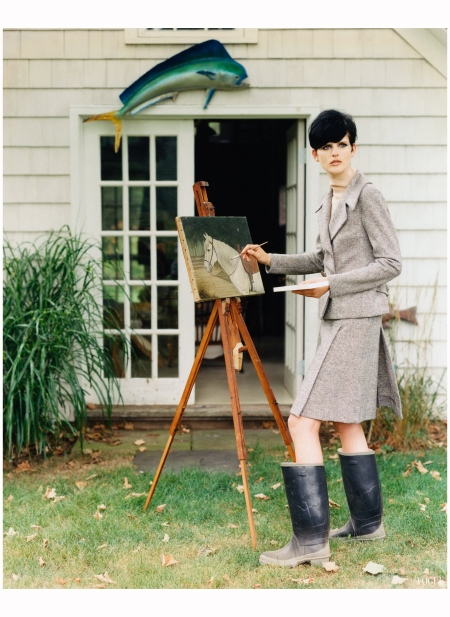 Stella Tennant Vogue 1995 Photo Arthur Elgort