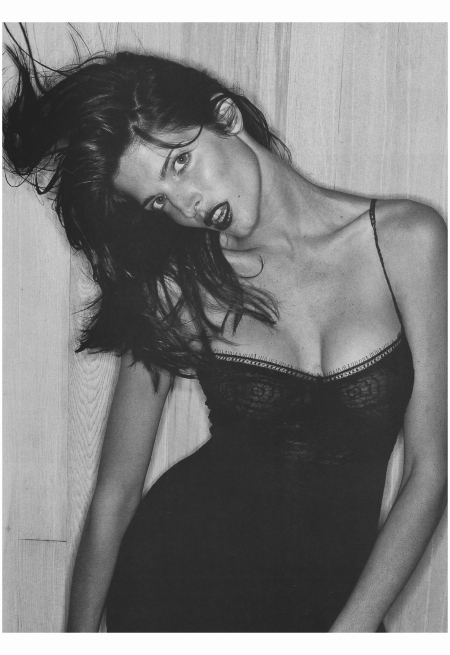 Stephanie Seymour Photo Juergen Teller, Vogue, September 1994