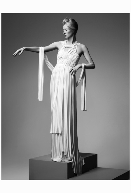 Tilda Swinton in Madame Grès 2011 Photo Jean Baptiste Mondino