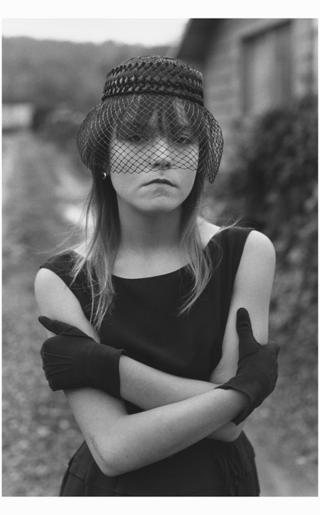 Tiny, Black Hat And Veil Streetwise, Seattle,  1983 Photo Mary Ellen Mark