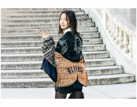 Xiao Wen Ju 2015 Photo Tommy Ton