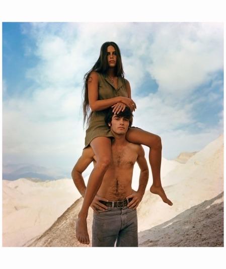 1968. Sur le tournage de Zabriskie Point de Michelangelo Antonioni © Bruce Davidson