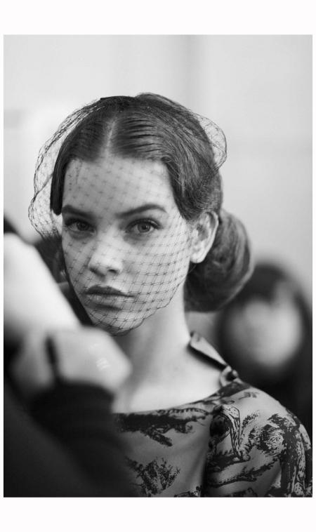 Barbara Palvin 2012 Paris Fashion Week Back stage Photo Boo George