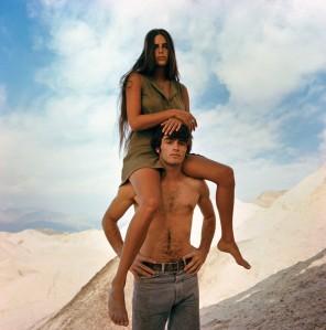 Bruce Davidson 1968. Sur le tournage de Zabriskie Point de Michelangelo Antonioni