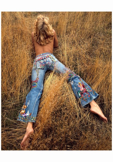 Denim Levis in the 70s The Sam Haskins Estate 2015 Photo Sam Haskins