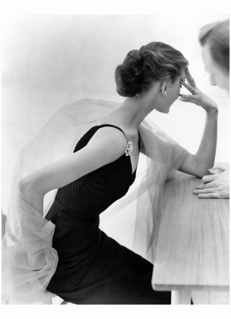Don Honeyman's elegant picture, published in May 1951. Vogue