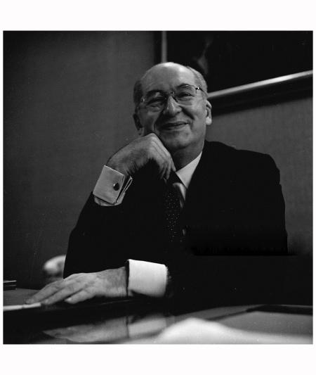 Fashion designer Jacques Heim (1899 - 1967) 1965 Reg Lancaster