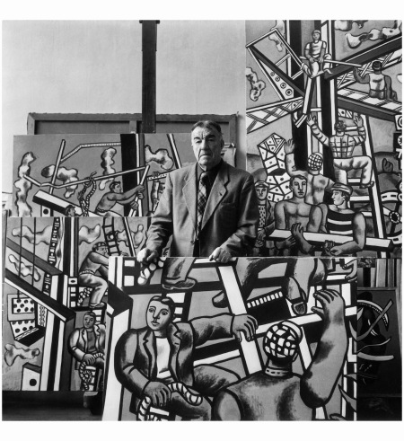 Fernand Leger 1950.51 Photo Willy Maywald