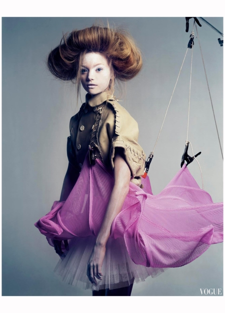 Gemma Ward 2005 Vogue It Photo Craig Mc Dean