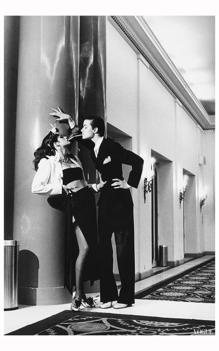 Gia Carangi, Vogue, Paris, 1979 Photo Helmut Newton