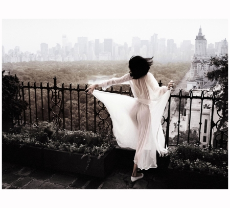 'Good Morning America', New York (1990) Photo Patrick Lichfield