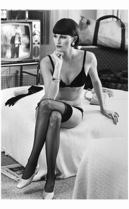 Helmut Newton, Viviane F.à l'Hotel Volney, New York, 1972