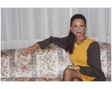 Jacqueline de Ribes Vogue 1987