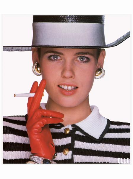 Jenny Howorth ELLE 1987 Oliviero Toscani