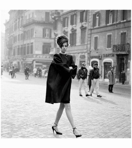 Jeny Howorth, Rome, Italian Vogue 1989 Photo Arthur Elgort b