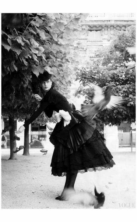 Karlie Kloss Vogue, October 2009 Photo Arthur Elgort b