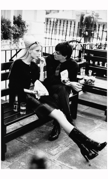 Kristy Hume & Donovan Leitch 1995 Photo Arthur Elgort