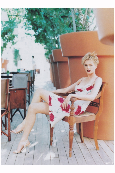 Kylie Bax 1997 Photo Arthur Elgort