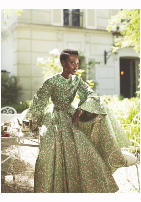 Lupita Nyong'o - Dior Raf Simons vogue 2015 Photo Mert Alas & Marcus Piggot