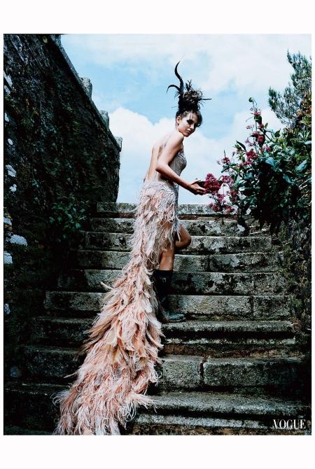 Marina Hanbury Cavalli Francois Halard Vogue 2003