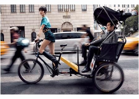 Maryna Linchuk Vogue China 2013 - Photo Walter Chin