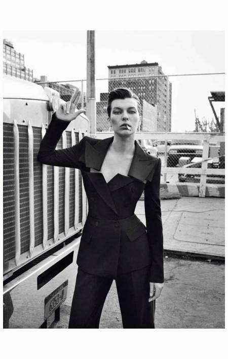 Milla Jovovich Photo Inez & Vinoodh 2013 NewYork