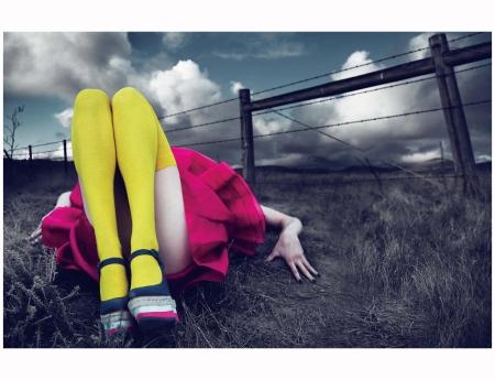 "Mimic cumulonimbi in voluminous looks. ""Against Nature"" photographed by Mert Alas & Marcus Piggott, styled by Alex White; W Magazine March 2011"