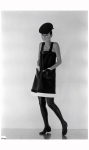 Model Sin-May Zao Fashions-Paris Pierre Cardin Spring Collection 1968 Photo Bill Ray 3w