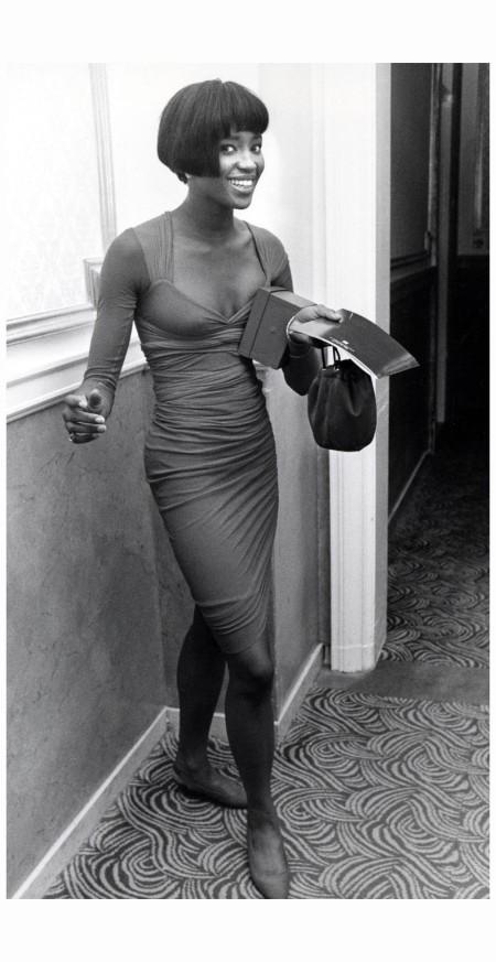 Naomi Campbell 29 ottobre 1989 Pgoto Ron Galella