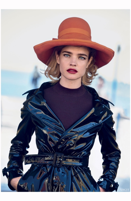 Natalia Vodianova Vogue at Maison Margiela John Galliano Vogue Photo Peter Lindbergh 2015