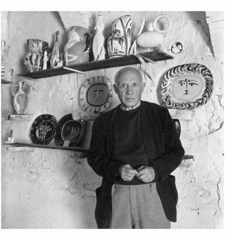 Pablo Picasso Vallauris Provence Alp 1948 Photo Willy Maywald
