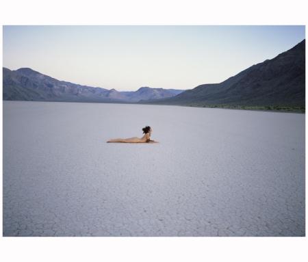 'Salt Flat', Death Valley, USA (1985) Photo Patrick Lichfield